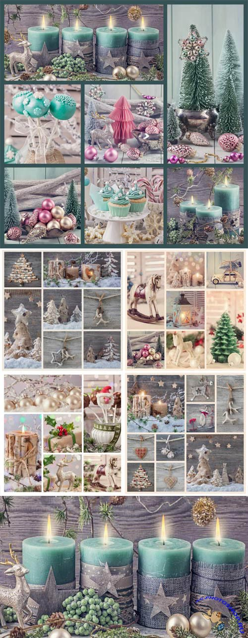 New Year and Christmas stock photos №49