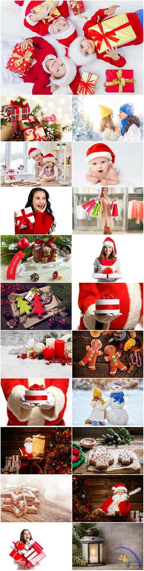 New Year and Christmas stock photos 97